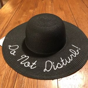 "New ""Do Not Disturb"" Beach Hat"